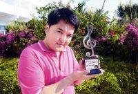Нургали Турлыбеков (Казахстан) завоевал Гран-при международного эстрадного конкурса в Туве
