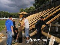 К реконструкции главного стадиона Тувы привлечены студотрядовцы
