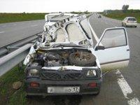 Двое пенсионеров из г. Турана (Тува) пострадали на автодороге М-54