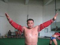 Андрей Хертек - победитель республиканского первенства по борьбе хуреш