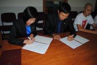 Молодогвардейцы и Молодежное Правительство Тувы договорились о сотрудничестве