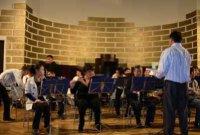 Духовой оркестр правительства Тувы дал концерт в Риге