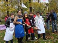 Тувинские студенты принимают участие в озеленении Москвы