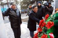 В Туве почтили память сотрудников органов внутренних дел, погибших при исполнении служебных обязанностей
