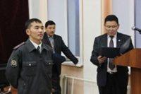 В Туве торжественно поздравили участковых уполномоченных