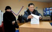 Шолбан Кара-оол и Лариса Шойгу проголосовали на избирательном участке Каа-Хемский «Западный» №86