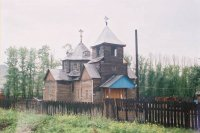 В Национальном музее Тувы открылась выставка, посвященная 100-летию первого православного храма республики