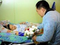 В Перинатальном центре Тувы в первый день 2012 года родились две девочки и один мальчик