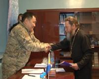 Шолбан Кара-оол выделит средства на восстановление сельской церкви в Сарыг-Сепе