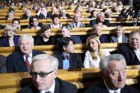 Во встрече Владимира Путина с доверенными лицами участвовали Куулар Даржаа и Петр Морозов
