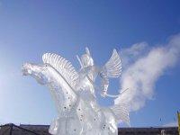 Тувинский скульптор завоевал Гран-При якутского конкурса ледовых скульптур