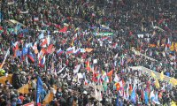 """В митинге """"Защитим страну!"""" в Лужниках приняла участие делегация из Тувы"""
