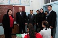 Полпред и глава Тувы побывали в школе-интернате, наиболее пострадавшей от землетрясения