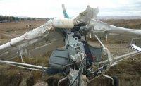 """Вероятная причина падения в прошлом году самолета """"Бекас"""" в Туве - неисправность двигателя"""