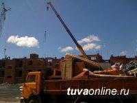 В Туве увеличивается производство строительных материалов