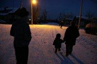 Завхоз поселковой администрации в Туве воровал уличные светильники