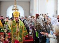 Христиане Тувы вступили в Страстную неделю