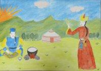 Конкурс детских рисунков: дорога к Храму заключается в умении дорожить малым