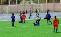 В Туве открыто еще одно современное футбольное поле с искусственным покрытием