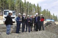 3,8 млрд. рублей инвестировала компания «Лунсин» в строительство горнообогатительного комбината в Туве