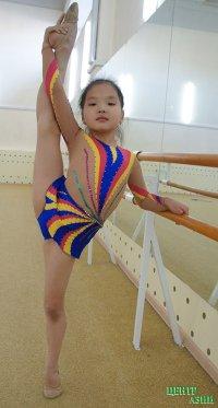 6-летняя гимнастка из Тувы завоевала бронзу на всероссийских соревнованиях