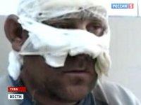 В Туве выжившего чудом при тушении пожара десантника перевели из реанимации в ожоговое отделение