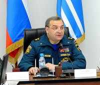 Глава МЧС России Владимир Пучков посетил Туву с рабочим визитом