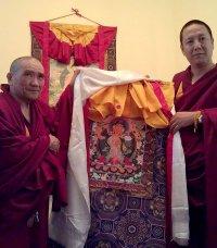 Официальная делегация монастыря Дрепунг Гоманг прибыла в Туву с обширной программой