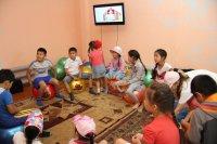 В Туве Лингвистическая школа для детей с обучением английскому языку «Friendship» открыла второй сезон