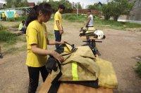 В Туве в 2013 году откроется профильный полевой детский лагерь «Юный пожарный»