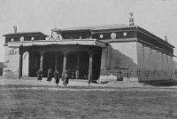 В открывшемся сегодня храме «Устуу-Хурээ» (Тува) проведена первая служба
