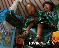 В Бай-Тайге (Тува) прошел конкурс «Тыва кавай» (детских люлек)