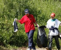 Енисею помогут освободиться от мусора участники студенческого форума Тувы