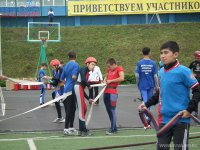 Учащиеся гимназии № 5 (Кызыл, Тува) заняли 3-е место на всероссийском слете юных огнеборцев