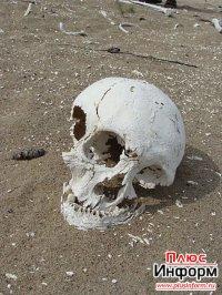 Местные жители с. Межегей (Танды, Тува) нашли древнее захоронение