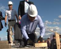 В Туве началось строительство 140-квартирного дома для работников культуры