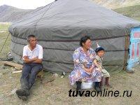 Чабаны Монгун-Тайги. У двух озер