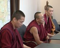 Буддийские ламы, обучающиеся в Индии, поставили цель вернуться в Туву с докторским званием геше