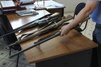 В Туве в течение 8 месяцев года изъято 100 единиц незаконного огнестрельного оружия