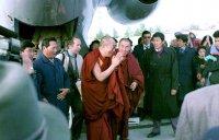 1992 год. Визит Далай-ламы XIV в Туву