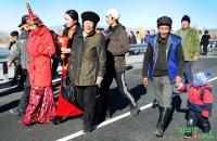 В Туве заасфальтировали часть трассы в Монголию