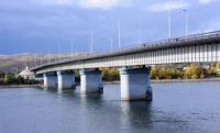 Главный мост Тувы будет закрыт для автотранспорта на четыре дня