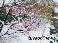 В Туве первый снег и гололед вызвали первые «зимние» ДТП