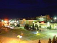 Ночная прогулка по Кызылу