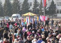 В Туве отмечают День народного единства с гостями из Хакасии и Красноярского края