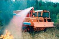 Тува получит спецтехнику для тушения лесных пожаров