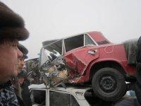 Сеанс «шокотерапии» для будущих водителей провели полицейские Тувы