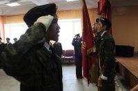 В Туве ряды юных друзей полиции пополнили 30 школьников