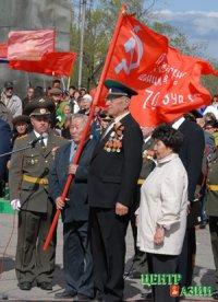 Тува. Фронтовику, ветерану пограничной службы Николаю Лосеву - 90 лет