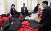 В пункты сбора, открытые по инициативе ТРО «Единой России», поступила первая гуманитарная помощь